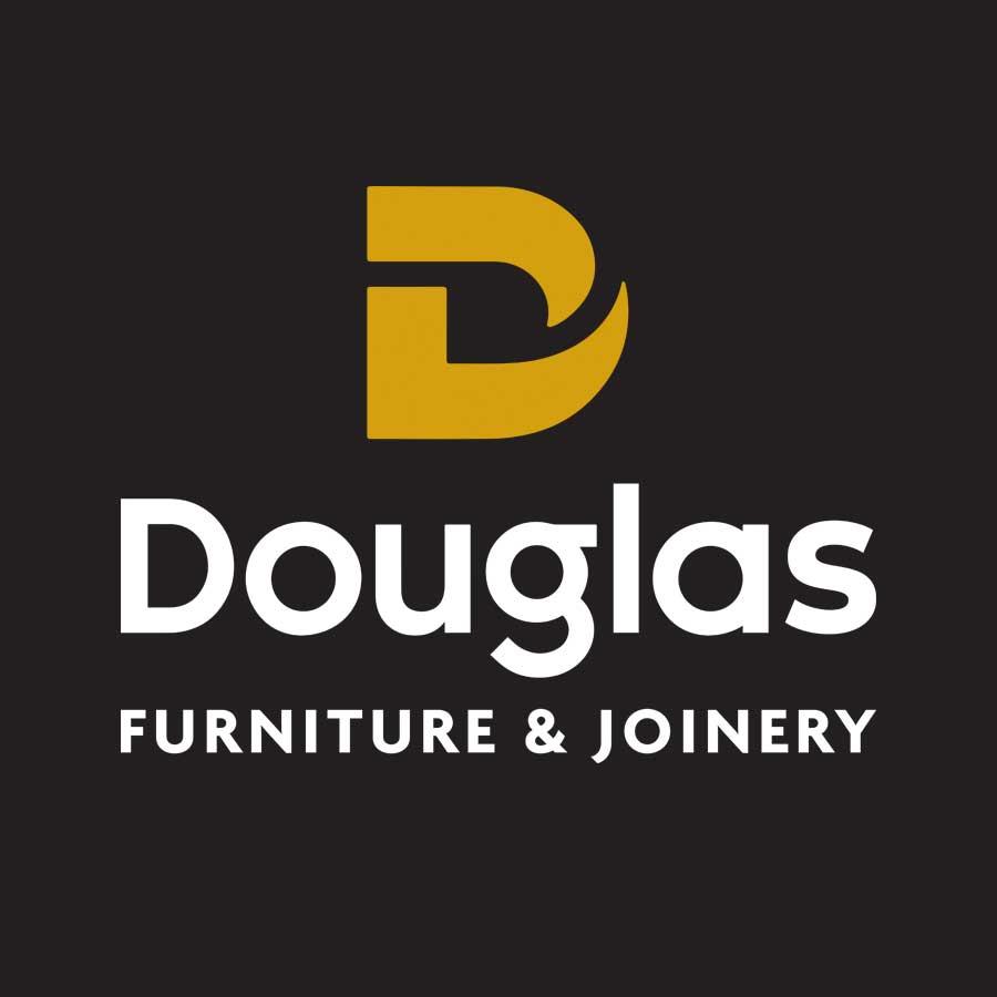 Douglas Furniture & Joinery Brand Logo Design Christchurch