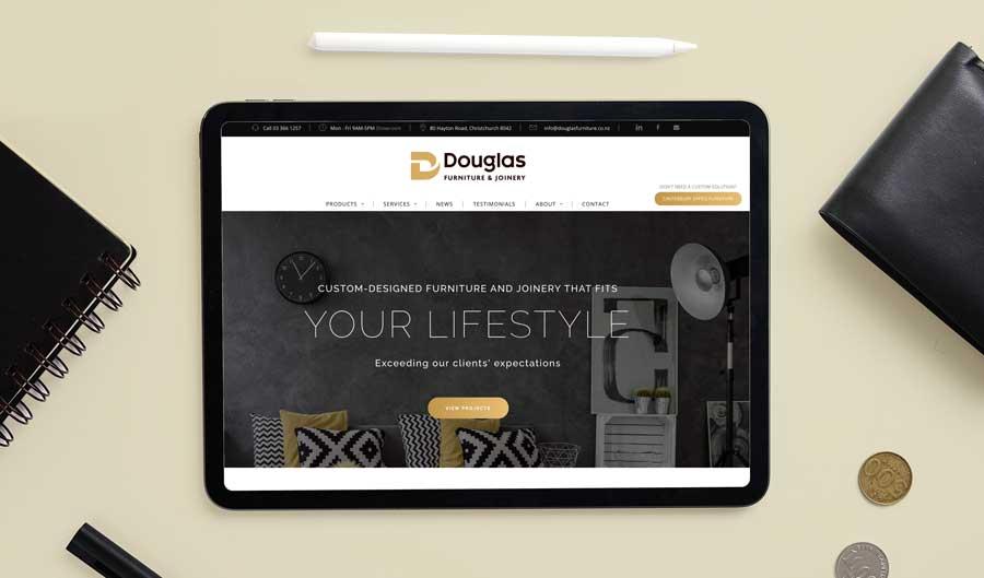 Douglas Furniture ResponsiveWebsite Design