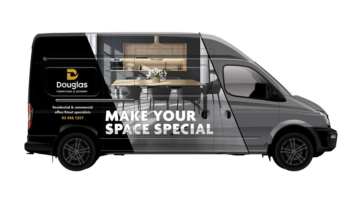 Vehicle Graphic Design and signage