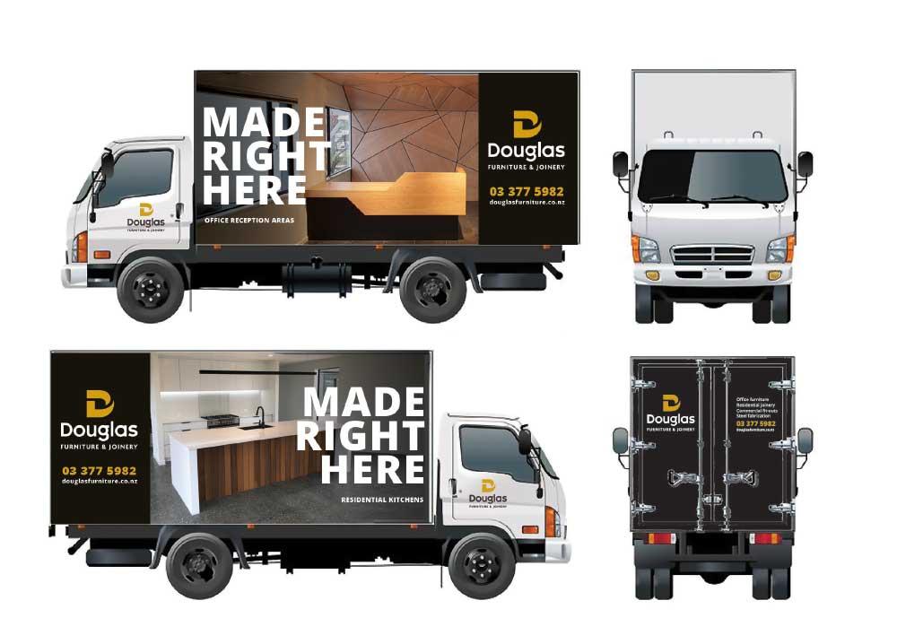 vehicle graphics and branding