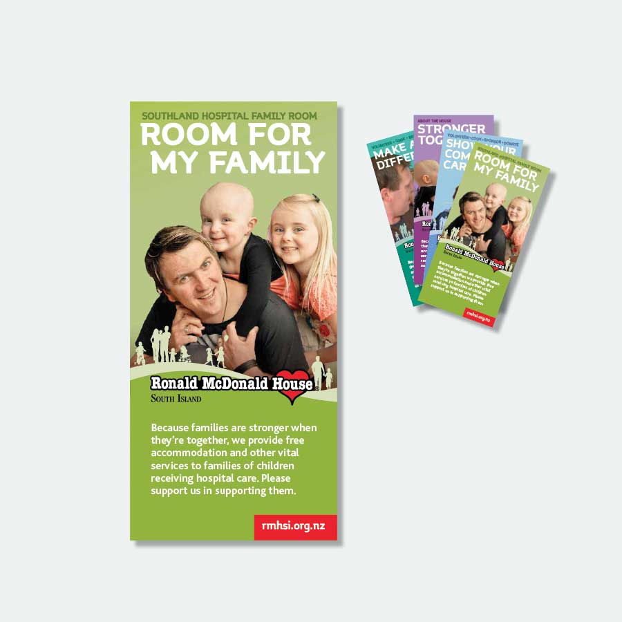 New leaflet design