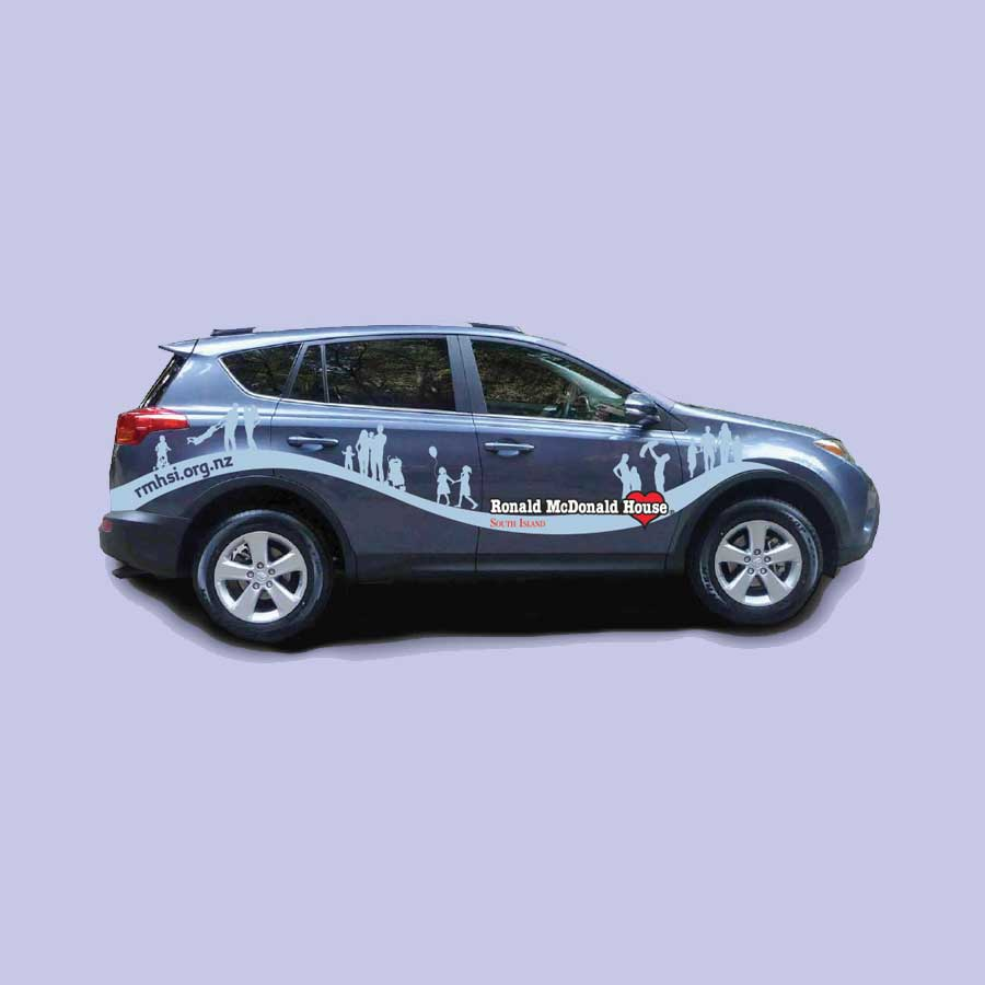 Car design for charity