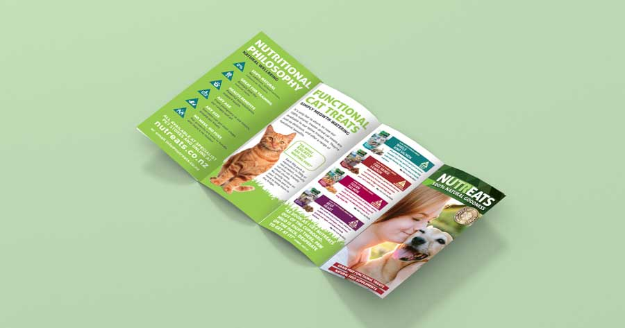 8 page leaflet design and print
