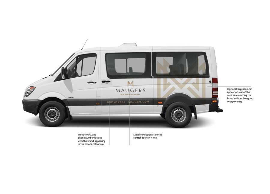 Maugers Vehicle Signage Designs