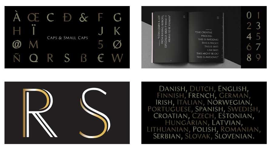 Bespoke typography for new logo design