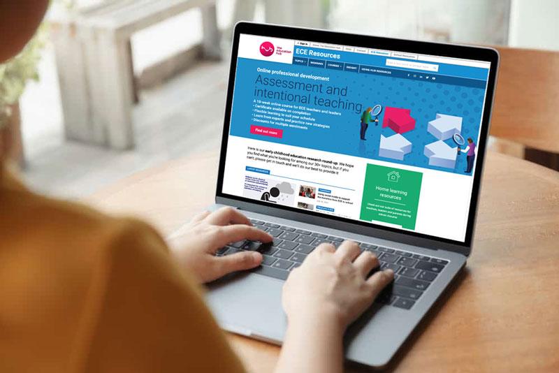 responsive website design for educators