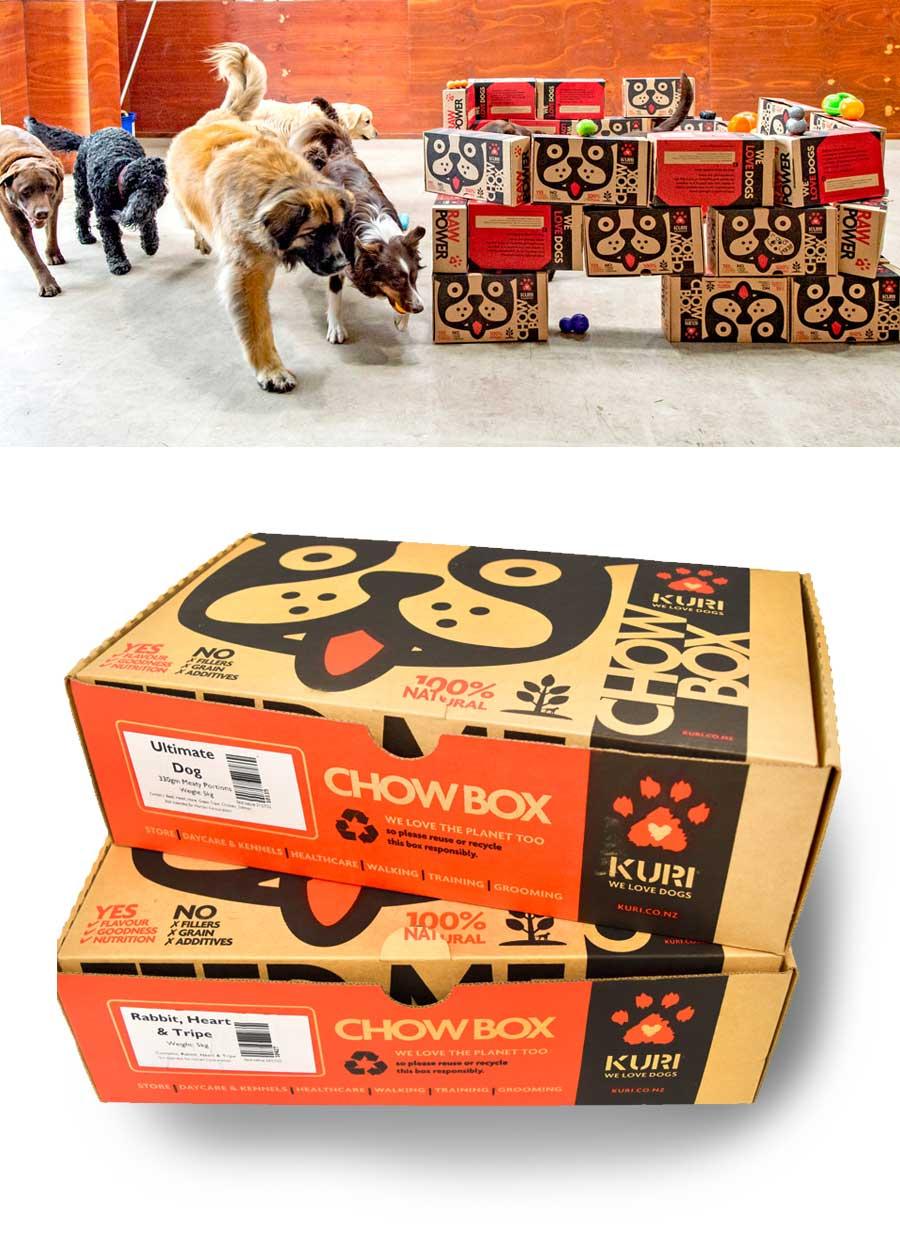 Kuri packaging box design
