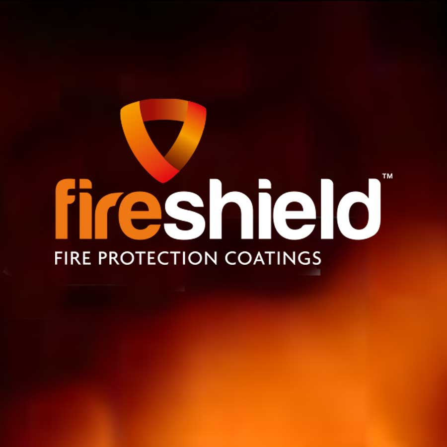 Fireshield branding and packaging design