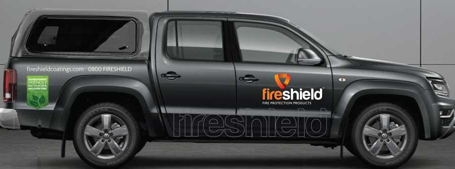 Vehicle design ute graphics