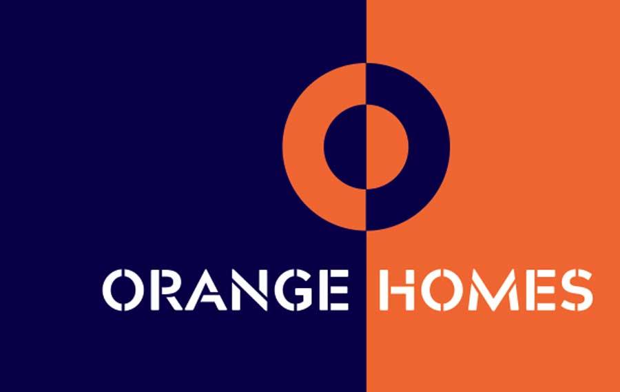 new logo design Orange Homes Christchurch